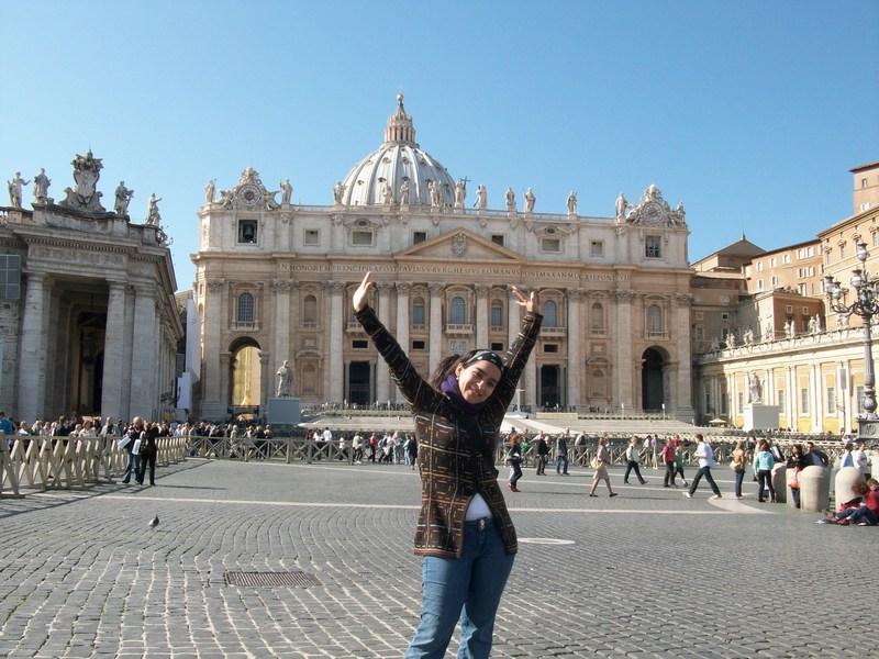 Diana Garces en Roma