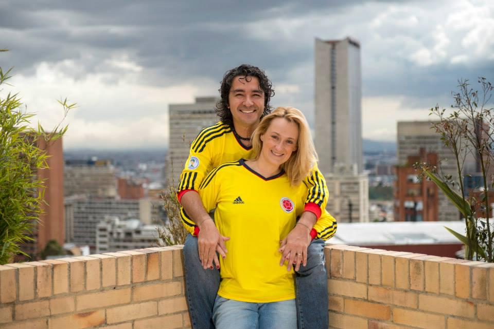 Ewa Kulak y Mario Carvajal
