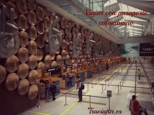 Viajar con Pasaporte Colombiano