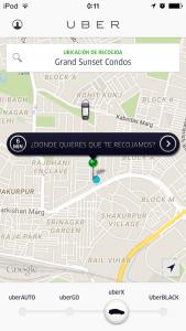 Uber buscando un conductor
