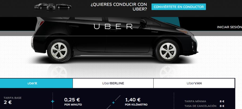 Uber en Paris