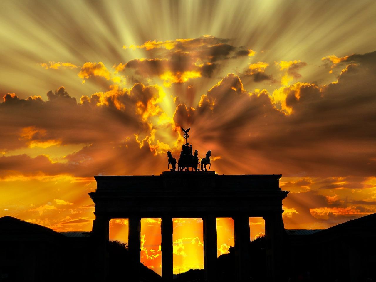 Puerta de Brandenburger. Berlín.