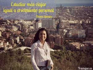 Becas para viajar y vivir por el mundo: Diana Martínez