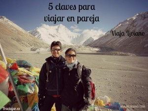 5 claves para viajar en pareja