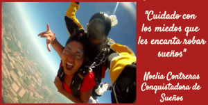 """Cuando hablamos de sueños: """"Todo es posible"""": Noelia Contreras"""