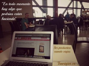 Ser Productiva Cuando Viajas