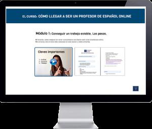 Curso enseñando español online