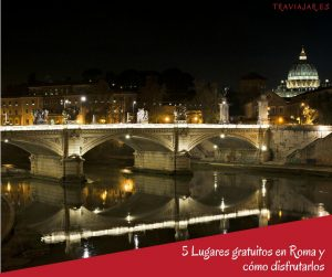 5 lugares gratis para visitar en Roma