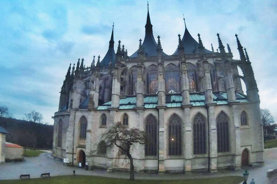 Iglesia Santa Barbara en Kutná Hora