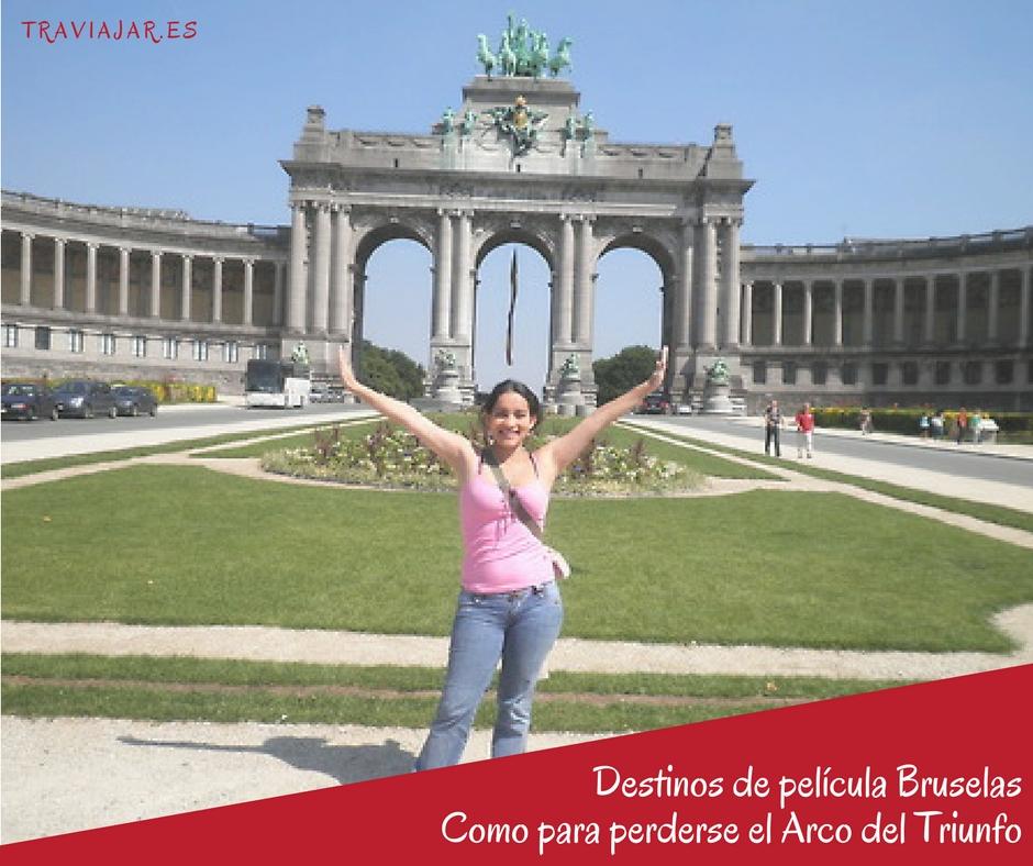 Bruselas Arco del Triunfo