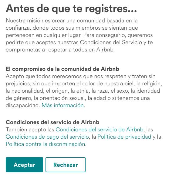 Aribnb-registro