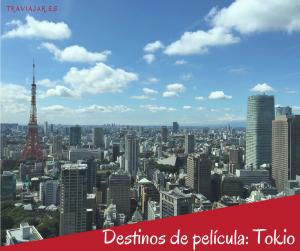 Destinos de película: Tokio