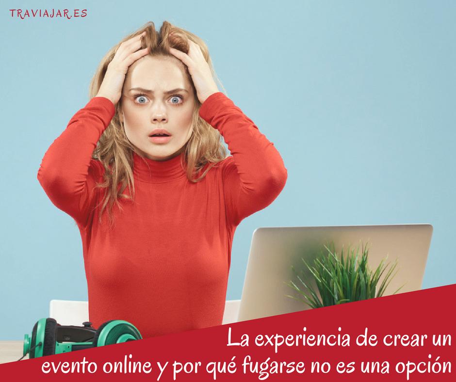 Crear un evento online