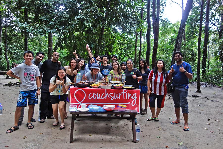 Organizar un viaje - couchsurfing